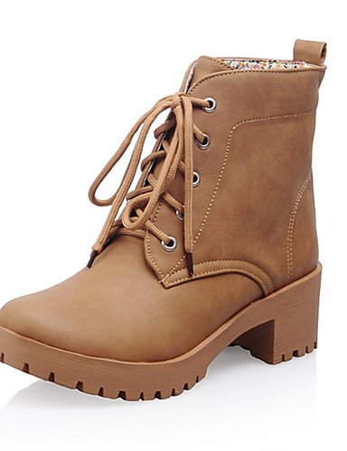 Cn42 Uk7 Casual Women's 8 10 Winter Dress Eu41 5 5 Shoes us9 Xzz Wedding Boots Fall Beige Leatherette Fleece Athletic Fashion Spring Ud17w