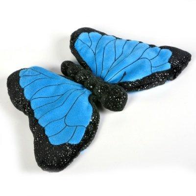 12 Inch Sparkle Blue Morpho Butterfly