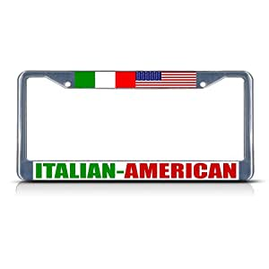 Amazon Com Fastasticdeals Italian American Metal License