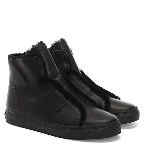 Top Talbot Noir en Haut Formateurs Black Cuir Kennel de Schmenger Leather amp; Yzwcq0t