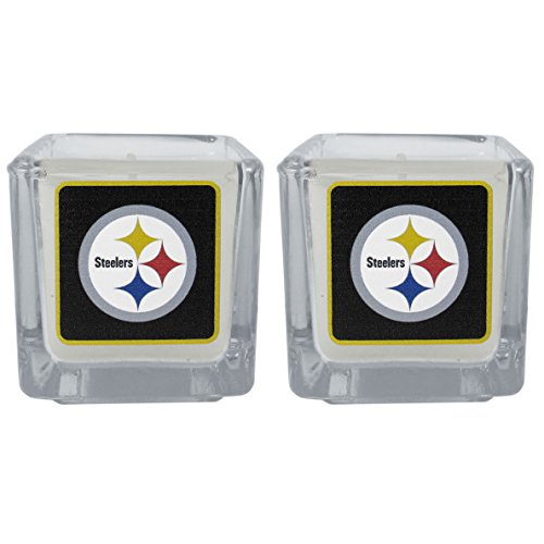 Steelers Candle Nfl Pittsburgh (NFL Pittsburgh Steelers Graphics Candles, Set of 2)