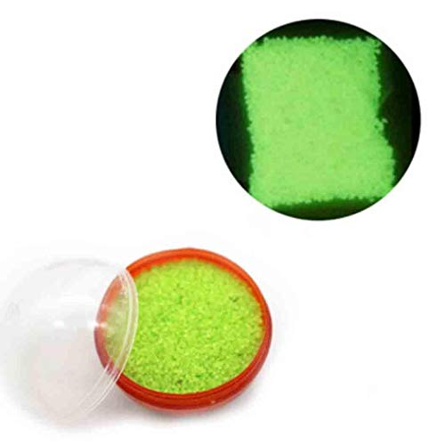 Hello22 Luminous Sand Glowing Fluorescent Sand Ball for Halloween Christmas Party Decorations ()
