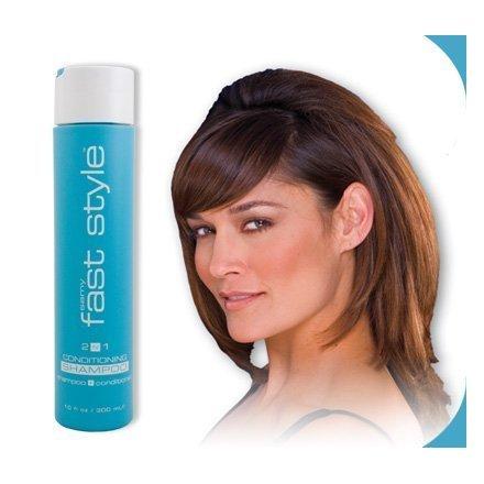 - Samy Fast Style 2-n-1 Conditioning Shampoo, 10 Oz., 300ml