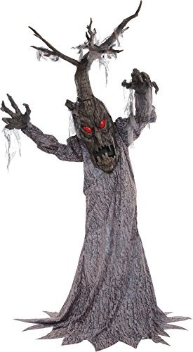 [Haunted Tree Deadwood 72 Inches Animated Halloween Prop House Yard Scary Decor by Mario Chiodo] (Halloween Animatronics)