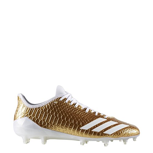 adidas Adizero 5Star 6.0 Gold Cleat Men's Football 18 Gold Metallic-White-White