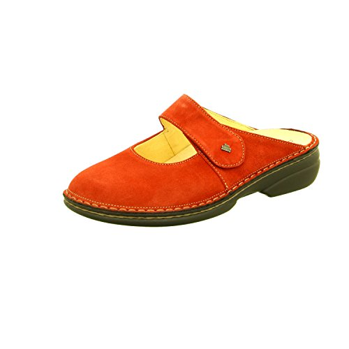 "'Finn Comfort Mules Sabots ""Stanford 2552 Rouge indianred"