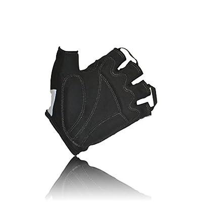 Cycling gloves, for biking, mountain biking, riding, gym, sports, foam padded breathable half finger gloves, men women