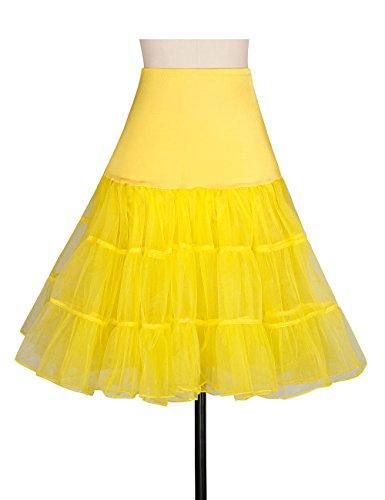 ADAMARIS Half Slips for Under Dresses Crinoline Underskirt Women's Petticoat Vintage Dresses Plus - Slip Petticoat Half