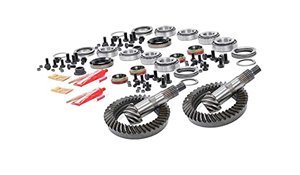 Rough Country Dana 35 4.56 Gears Set Fits 1987-2006 Jeep Wrangler TJ YJ Cherokee XJ Ring and Pinion 53545620