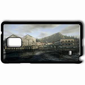 Personalized Samsung Note 4 Cell phone Case/Cover Skin Alan Wake Black