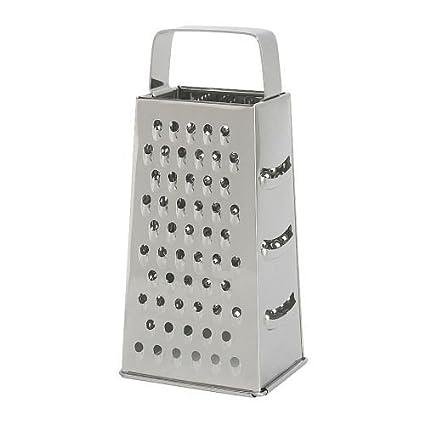 Compra IKEA IDEALISK - rallador, acero inoxidable en Amazon.es