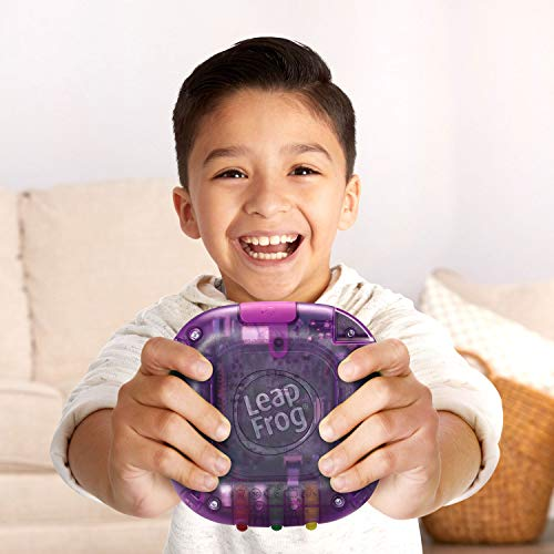 41unWMunEEL - LeapFrog RockIt Twist Handheld Learning Game System, Purple