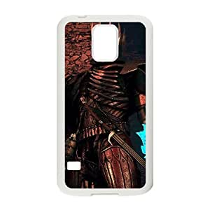 Samsung Galaxy S5 Cell Phone Case White_The Witcher 3 Wild Hunt review King of the Wild Hunt_002 Sfeqo
