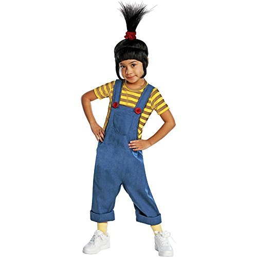 [Deluxe Agnes Child Costume - Medium] (Despicable Me Deluxe Agnes Toddler Child Costumes)