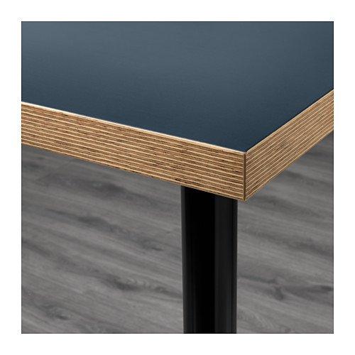 Amazon.com: Ikea Linnmon escritorio con patas Adils para ...