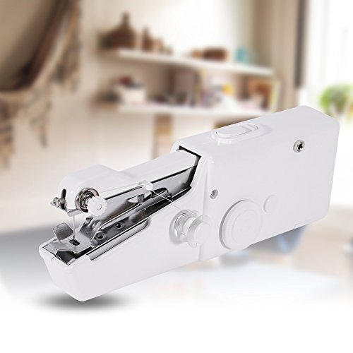 Handheld Sewing Machine,Portable Sew Quick Handy Stitch Clothes Sewing Machine Cordless Batteryed for Home Desk Travel by GOTOTOP