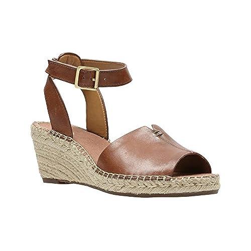 d79cc4de4 Clarks Petrina Selma - Nutmeg (Brown) Womens Sandals free shipping ...