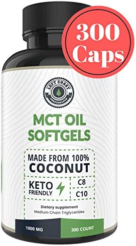 Capsules derived Coconuts Softgels Approved
