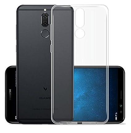 wholesale dealer 67ef0 16220 Azzil Back Cover Soft Clear Case for Huawei Nova 2i: Amazon.in ...