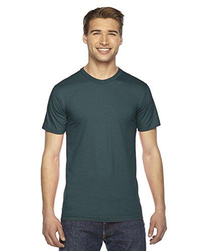 (American Apparel Mens Fine Jersey Short-Sleeve T-Shirt (2001) -FOREST -3XL)