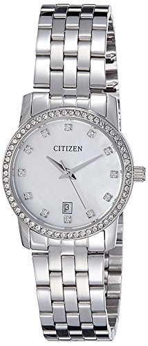 Citizen Analog Mother of Pearl Dial Women's Watch - EU6030-56D