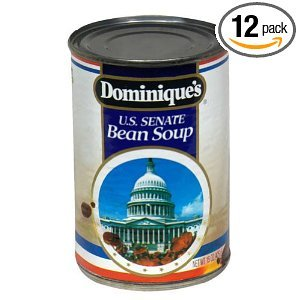 Dominique's US Senate Bean Soup, 15-Ounce Cans (Pack of 12)