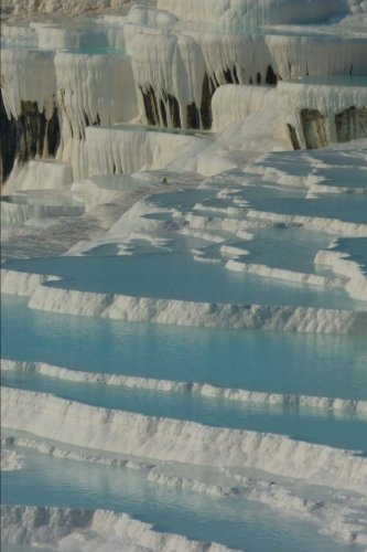 Calcium Spring Pamukkale Turkey Journal: 150 page lined notebook/diary