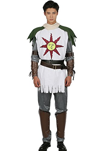 Solaire Costume Sun Warrior Outfit for Halloween Cosplay ()