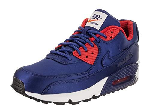Nike Air Max 90 Herren Se Trainer En Nylon Bleu Profond Royal