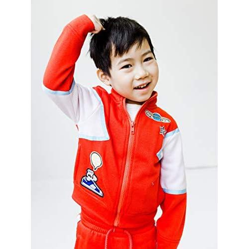 Sizes 2T-3T-4T-5T-6-7 Kinderkind Boys Jogger Pants and Jacket Set