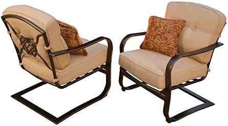 Oakland Living 2 Piece Heritage Deep Seating Spring Chair
