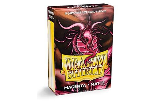 Japanese Trading Card - Arcane Tinman Sleeves: Dragon Shield Matte Japanese Magenta (60) AT-11126