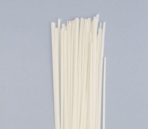 80 Streifen Karen Marie Klip: Quilling Papierstreifen Natur Wei/ß 5x450mm 120 g//m2