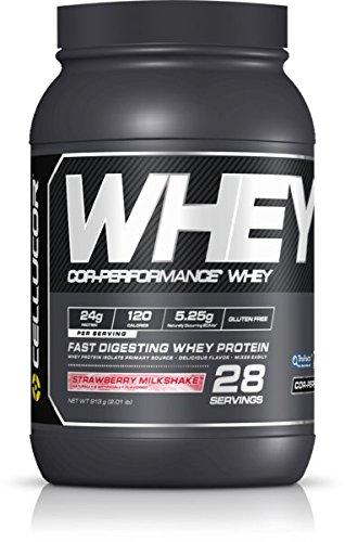 Cellucor Cor-Performance Whey Protein, G4v2, Strawberry Milkshake, 28 Servings