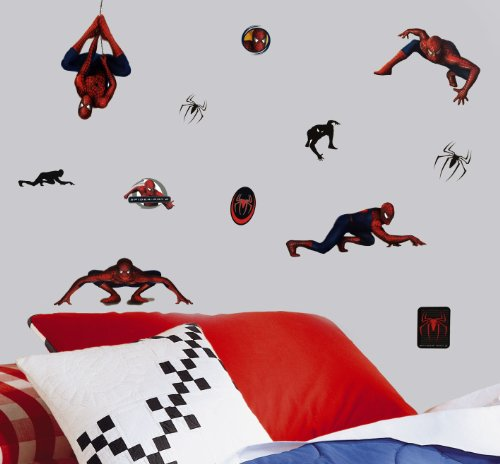 Marvel Spiderman 2 Stickers Superhero Self-Stick Decals