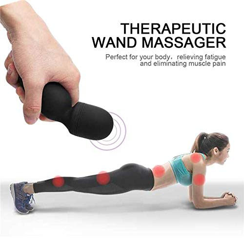 Mini-Wand-MassagerFovel-Wireless-Cordless-Portable-Small-Size-Handheld-Powerful-Massage-for-Back-Neck-Shoulder-Silent-Waterproof-USB-ChargeableBlack
