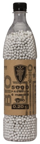 Umarex Elite Force Premium Biodegradable 6mm Airsoft BBS Ammo.20 Gram, 5000 Count