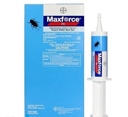 Bayer Maxforce Fc Roach Bait Gel Lrg 60 Grm Tube German C...