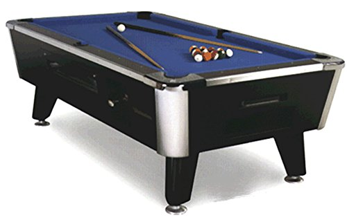 Great American Legacy 9 Foot Pool Table with Ball Return Flavor: Coin Mechanism by Great American
