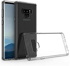 Back silicone Cover For Samsung Galaxy Note 9 - Clear