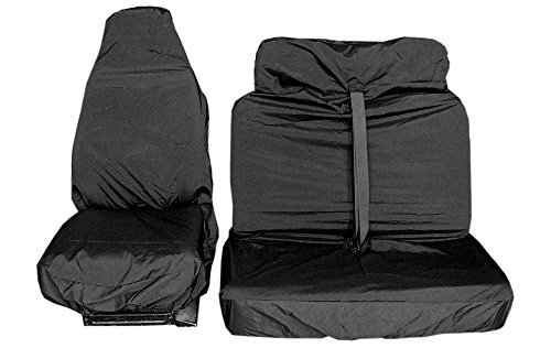Universal Heavy Duty Car Front Seat Covers Protectors Waterproof Resistant - 5