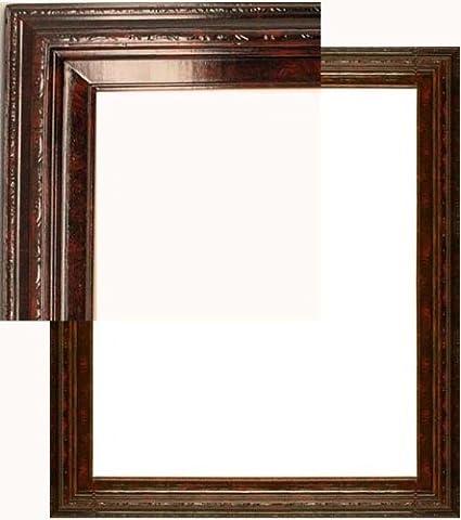 Amazon.com - Natural Wood Frame 24 X 36 Open Back Mahogany Red ...
