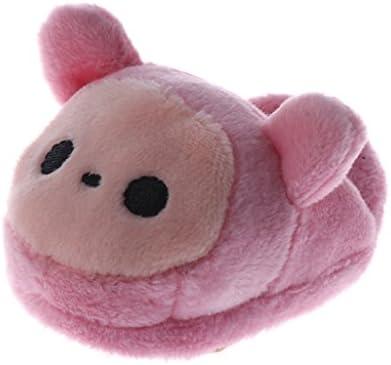 人形 ドール ぬいぐるみ靴 シューズ 1/3 BJDドール人形用 アクセサリー 全2カラー - ピンク