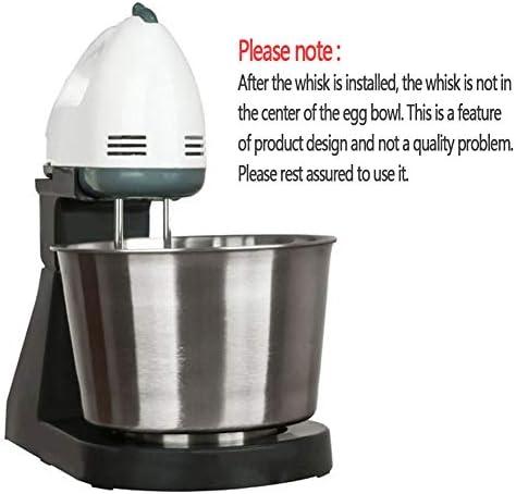 CMAO Mélangeur de Cuisine,Fouet électrique malaxeur de Bureau de ménage de Machine/Double Usage Tenu dans la Main avec Le Seau de mélange 1.8L