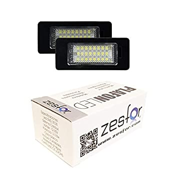 Zesfor Luces de matrícula LED para Skoda Octavia Familiar (2012-actualidad): Amazon.es: Coche y moto