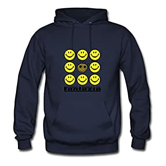 Women Fantazia 9 Smiley V2 Sweatshirts -x-large Regular Print Navy