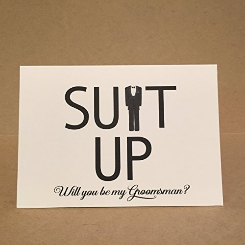 Will You Be My Groomsman Card Best Man Card Groomsmen Cards {Style 3}