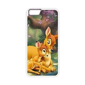 iPhone 6 Plus 5.5 Inch Cell Phone Case White Bambi 001 VA2462451