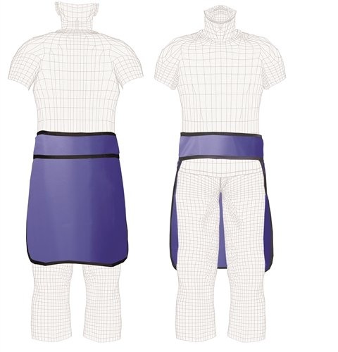 Techno Aide X-Ray Semi-Guard Lead Half A - Regular Lead X-ray Apron Shopping Results