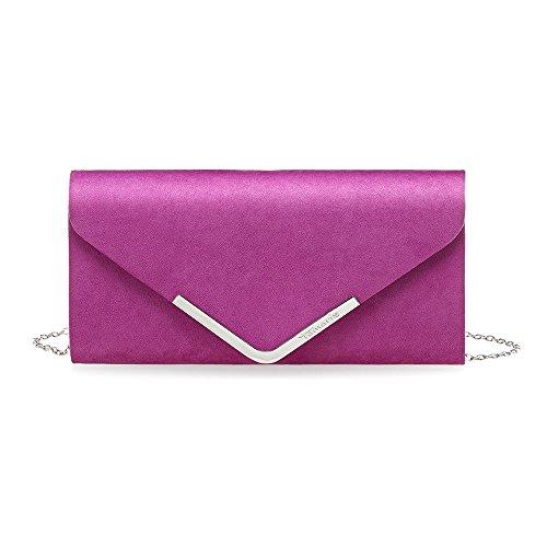 Tamaris Ladies Clutch 2411181-510 Borsa Da Sera Da Donna In Rosa
